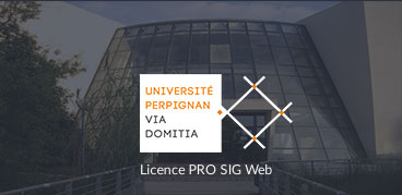 Business Geografic - GEO Academie - Licence pro SIG Web Perpignan