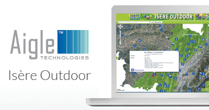 Business Geografic - GEO - Nouvelle application Isère Outdoor