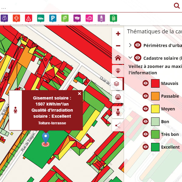 Business Geografic - GEO - Application cartographique Ville de Bordeaux