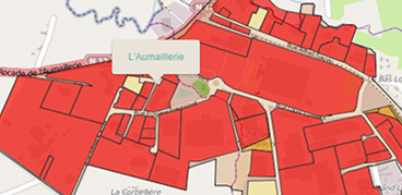 Business Geografic - GEO - Application cartographique Fougères Communauté