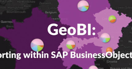 Business Geografic - GEO GIS - GeoBI for SAP BO