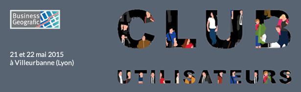 business geografic club utilisateurs sig 2015