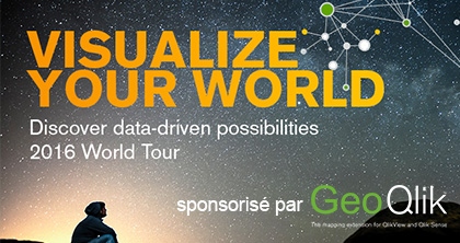 Business Geografic - GEO GIS - GeoQlik- Qlik Visualize Your World London 2016